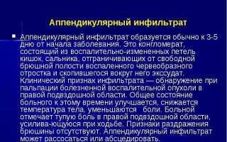 Лекции по факультетской хирургии 4 курс / 2 / 4к.Лекция 4. Осложнения осторого аппендицита