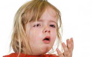 Рвота у детей при кашле: причины, что делать