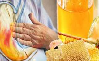Как принимать мед при повышенной кислотности желудка