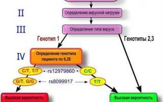 Вирус гепатита С (Hepatitis C Virus), расширенное определение генотипа (типы 1а, 1b, 2, 3a, 4, 5, 6)