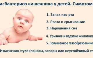 Если у мамы дисбактериоз, можно ли кормить грудью новорожденного?