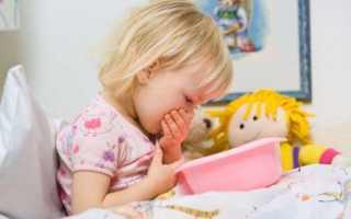 Причины рвоты у ребенка, когда нет поноса или температуры