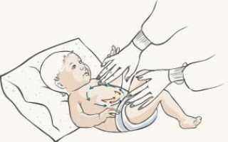 Сильно болит животик у новорожденного. Что делать?