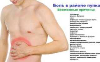 Симптомом каких болезней может выступать боль внизу живота у мужчин?