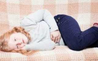Что делать, если у ребенка болит низ живота