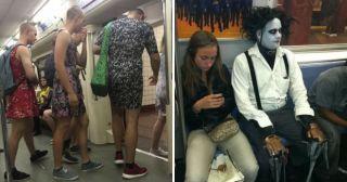 25 пассажиров метро, которых и рад бы забыть, да не можешь