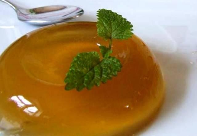 Чайное желе для лечения диареи